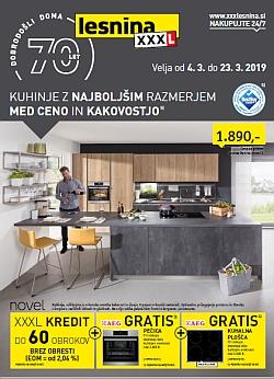 Lesnina katalog Kuhinje do 23. 03.