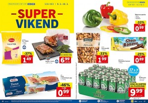 Lidl super vikend do 10. 03.