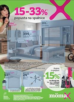 Momax katalog Popust na spalnice do 13. 04.