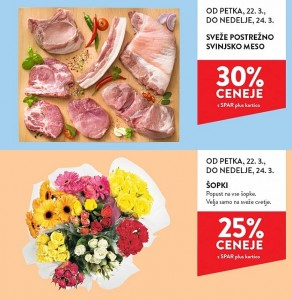 Spar in Interspar vikend akcija do 24. 03.