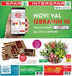 Spar in Interspar katalog do 12. 03.