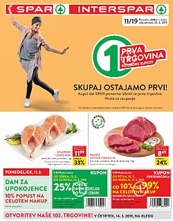 Spar in Interspar katalog do 19. 03.