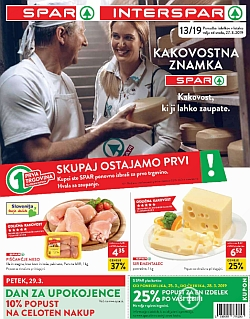 Spar in Interspar katalog do 02. 04.