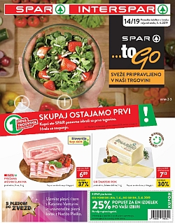 Spar in Interspar katalog do 09. 04.
