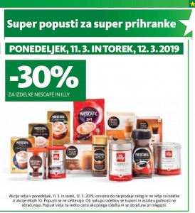 Tuš akcija Super popusti do 12. 03.