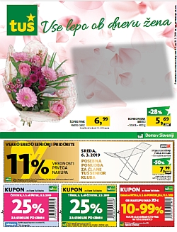 Tuš katalog trgovine in franšize do 11. 03.