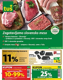 Tuš katalog trgovine in franšize do 25. 03.