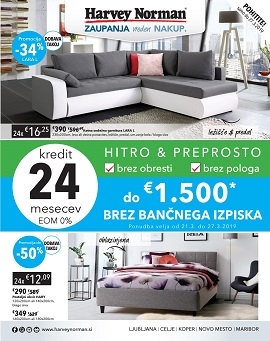 Harvey Norman katalog do 27.3.