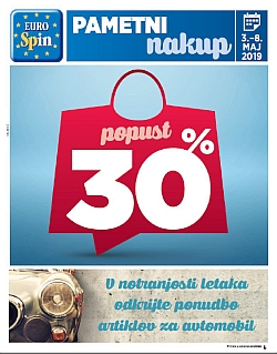 Eurospin katalog do 08. 05.