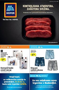 Hofer katalog od 18. 04.