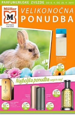 Muller katalog parfumerija Velikonočna ponudba