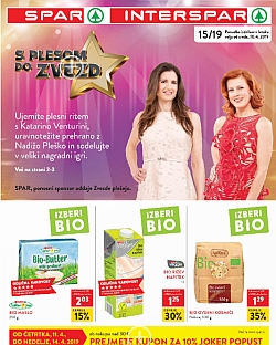 Spar in Interspar katalog do 16. 04.