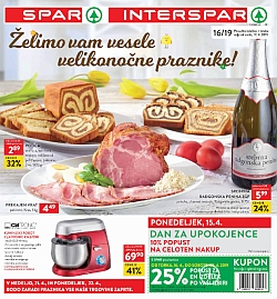 Spar in Interspar katalog do 23. 04.