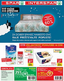 Spar in Interspar katalog do 07. 05.