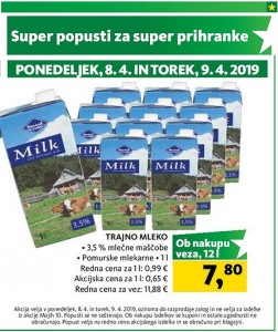 Tuš akcija Super popusti do 09. 04.