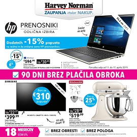 Harvey Norman katalog tehnika do 17.4.