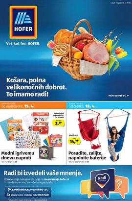 Hofer katalog do 21.4.