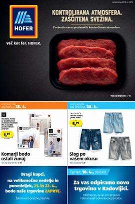 Hofer katalog od 23.4.