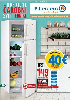 E Leclerc katalog tehnika Ljubljana do 06. 02.