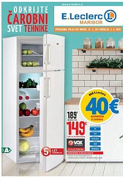 E Leclerc katalog tehnika Maribor do 02. 06.
