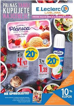 E Leclerc katalog Ljubljana do 02. 06.