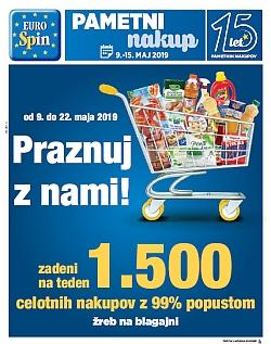 Eurospin katalog do 15. 05.