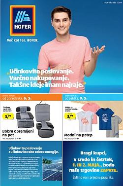 Hofer katalog od 03. 05.