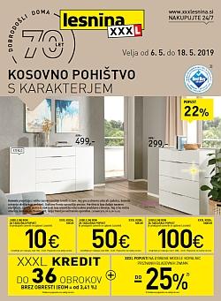 Lesnina katalog Kosovno pohištvo do 18. 05.