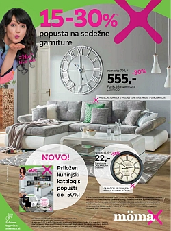 Momax katalog Sedežne garniture do 18. 05.