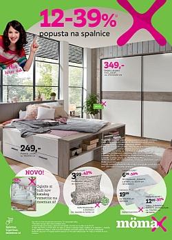 Momax katalog Popust na spalnice do 01. 06.