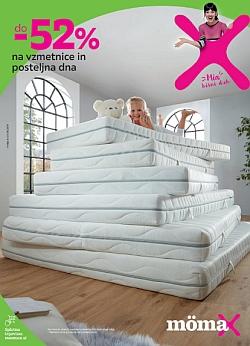 Momax katalog Popust na vzmetnice in posteljna dna