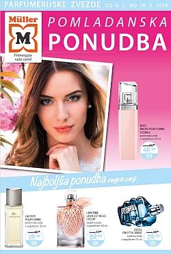 Muller katalog Pomladanska ponudba – parfumerija