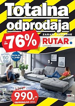 Rutar katalog Ljubljana Totalna odprodaja do 01. 06.
