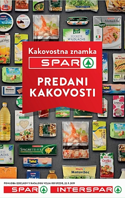 Spar in Interspar katalog Predani kakovosti do 28. 05.