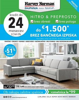 Harvey Norman katalog do 29.5.