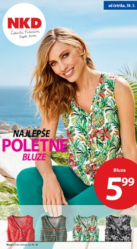NKD katalog Najlepše poletne bluze