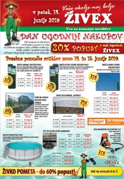 Živex katalog do 22. 06.