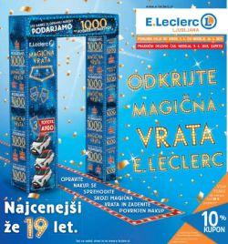 E Leclerc katalog Ljubljana do 16. 06.