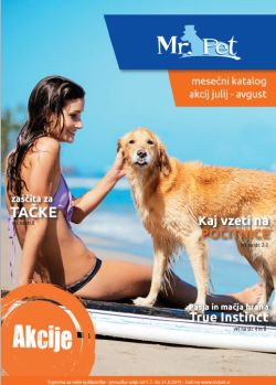 Mr Pet katalog do 31. 08.