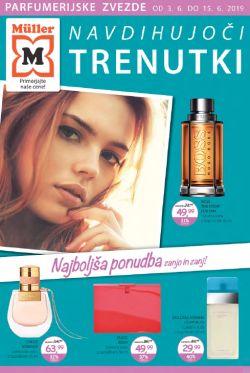 Muller katalog parfumerija Navdihujoči trenutki
