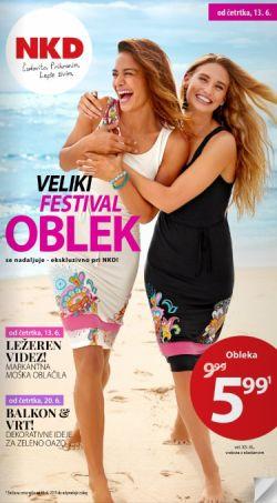 NKD katalog Veliki festival oblek