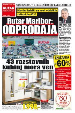 Rutar katalog Maribor Odprodaja kuhinj do 15. 06.