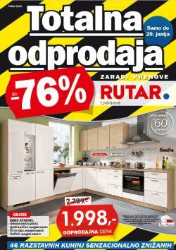 Rutar katalog Ljubljana Totalna odprodaja