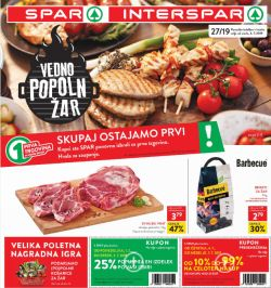 Spar in Interspar katalog do 09. 07.