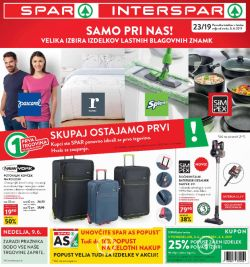 Spar in Interspar katalog do 11. 06.