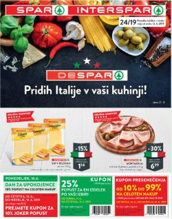 Spar in Interspar katalog do 18. 06.