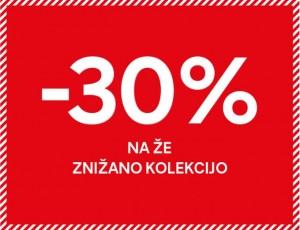 C&A akcija – 30 % na že znižano do 07. 07.