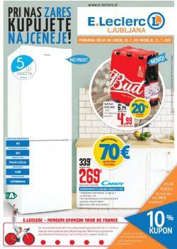 E Leclerc katalog Ljubljana do 21. 07.
