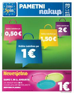 Eurospin katalog do 07. 08.