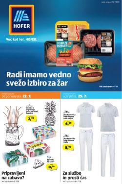 Hofer katalog od 18. 07.